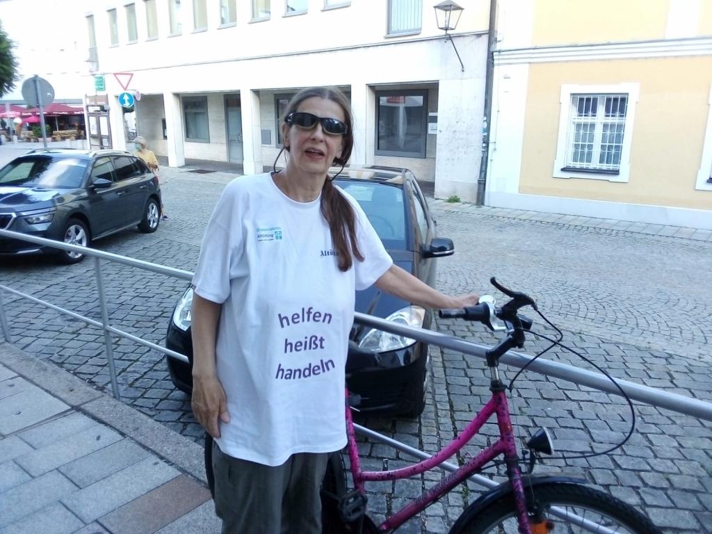 mit dem Rad nach Burghausen